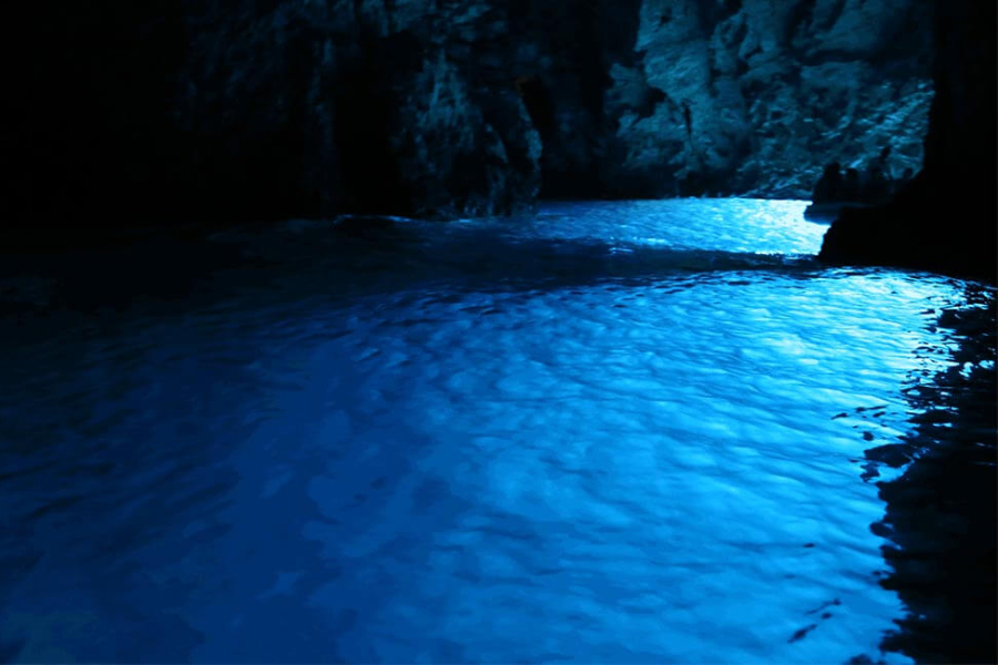 Blue cave and Hvar